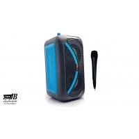اسپیکر بلوتوث شارژی رم و فلش KIMISO QS-2405+میکروفن